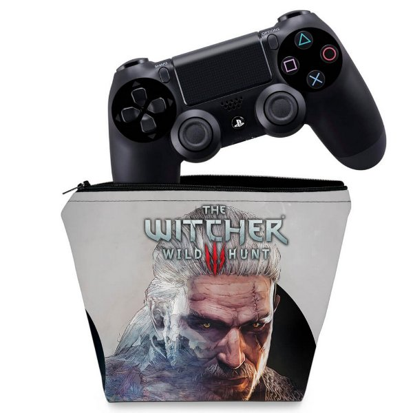Capa PS4 Controle Case - The Witcher #B