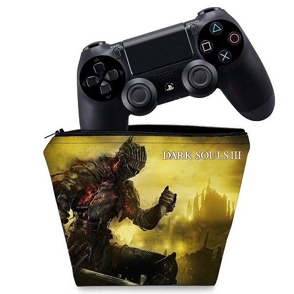 Capa PS4 Controle Case - Dark Souls 3