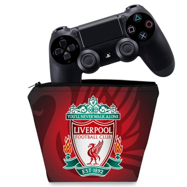 Capa PS4 Controle Case - Liverpool