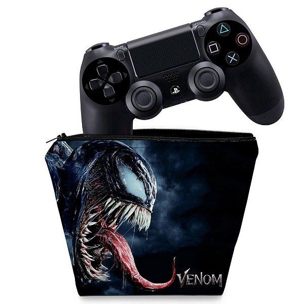 Capa PS4 Controle Case - Venom