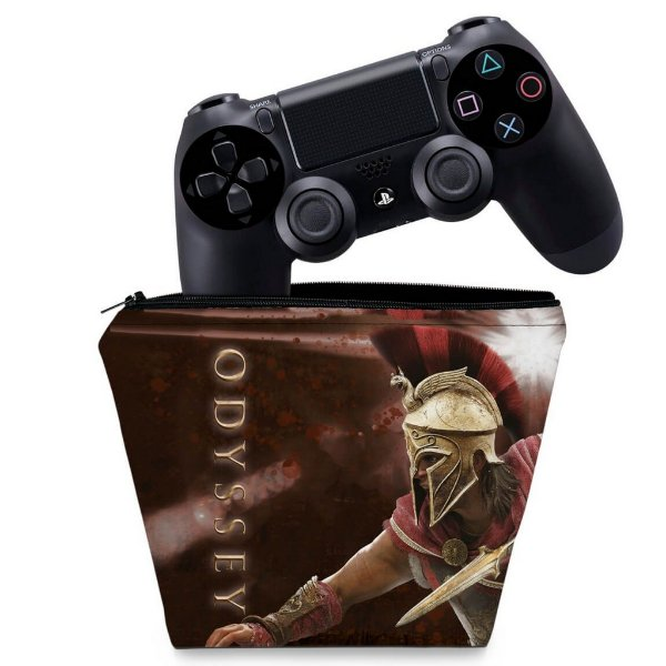 Capa PS4 Controle Case - Assassins Creed Odyssey