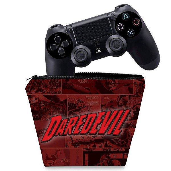 Capa PS4 Controle Case - Daredevil Demolidor Comics