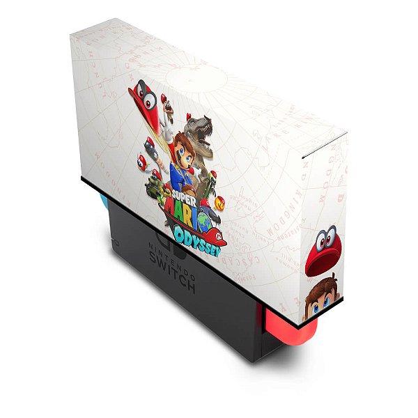 Nintendo Switch Capa Anti Poeira - Super Mario Odyssey