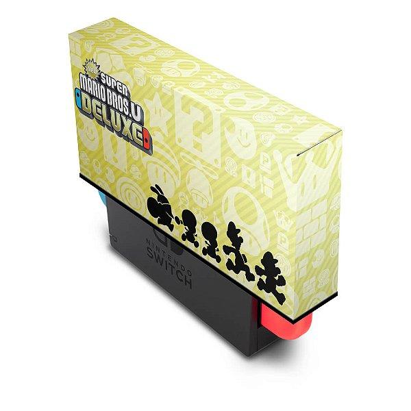 Nintendo Switch Capa Anti Poeira - New Super Mario Bros. U