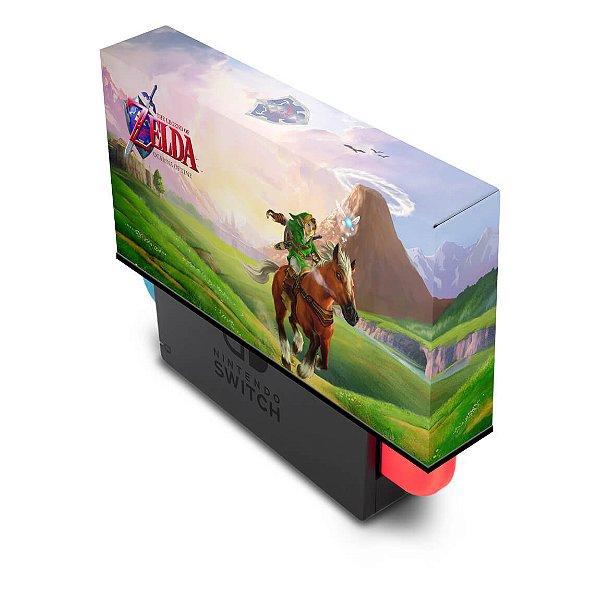 Nintendo Switch Capa Anti Poeira - Zelda Ocarina Of Time