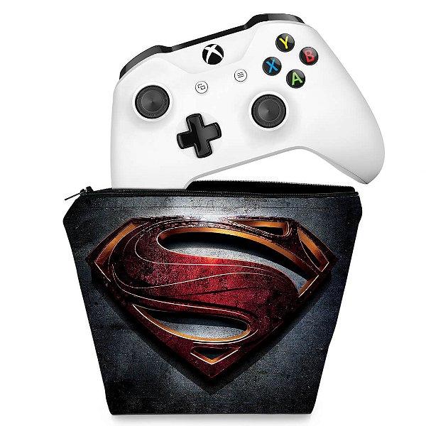 Capa Xbox One Controle Case - Superman - Super Homem