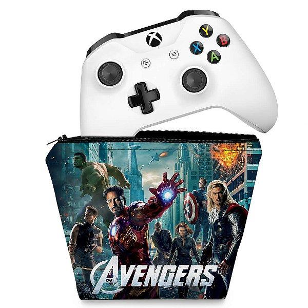 Capa Xbox One Controle Case - The Avengers - Os Vingadores