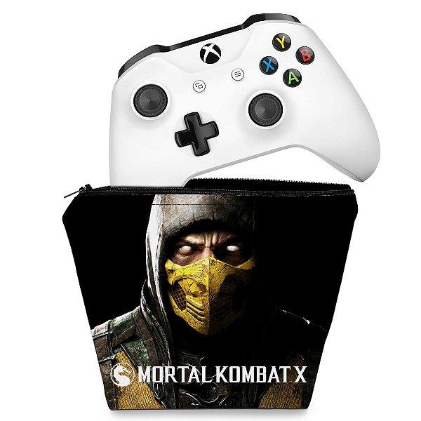 Capa Xbox One Controle Case - Mortal Kombat X