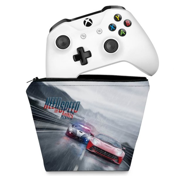 Capa Xbox One Controle Case - Need for Speed Rivals