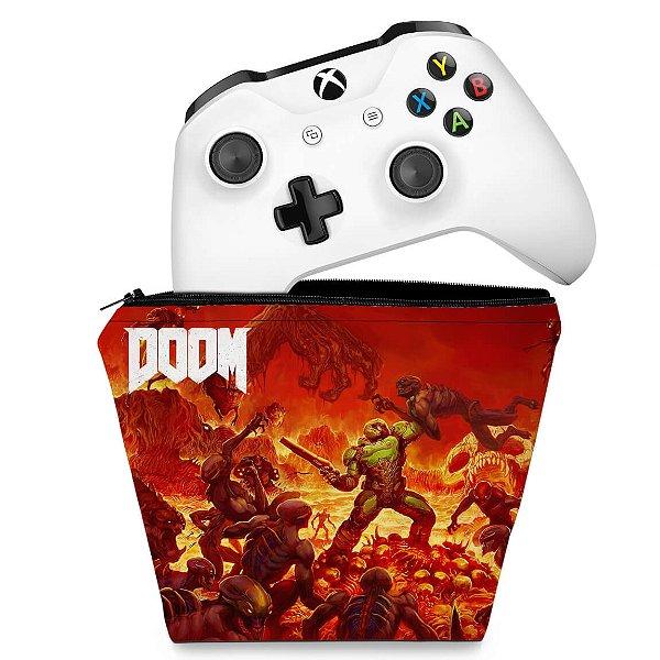 Capa Xbox One Controle Case - Doom