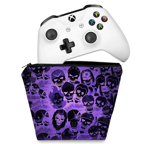 Capa Xbox One Controle Case - Esquadrão Suicida #D