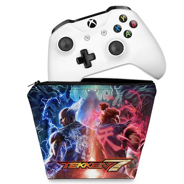 Capa Xbox One Controle Case - Tekken 7