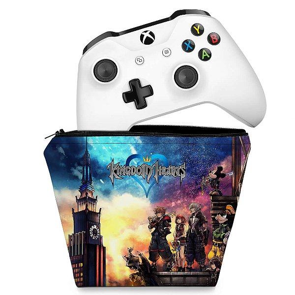 Capa Xbox One Controle Case - Kingdom Hearts