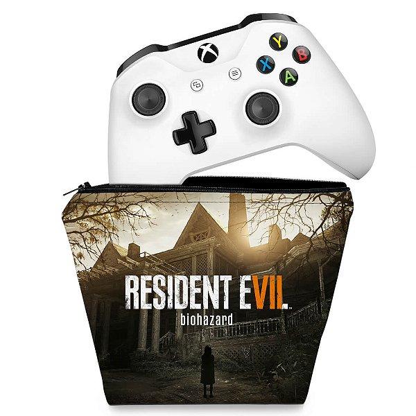 Capa Xbox One Controle Case - Resident Evil 7: Biohazard