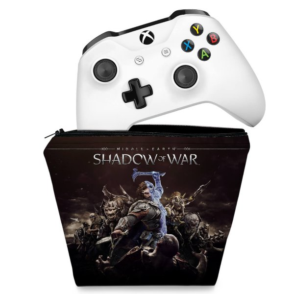 Capa Xbox One Controle Case - Shadow of War