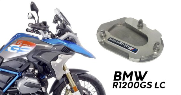 AMPLIADOR DA BASE DO DESCANSO LATERAL BMW R1200 GS LC