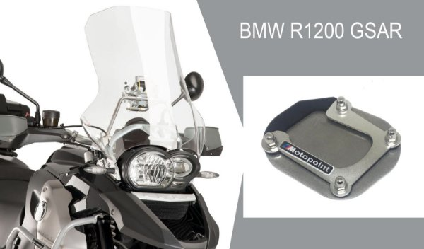 AMPLIADOR DA BASE DO DESCANSO LATERAL BMW R1200 GS AR