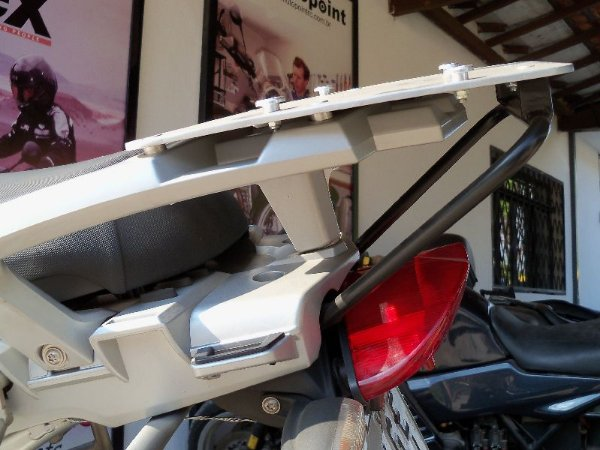 SUPORTE BASE FIXAÇÃO + REFORÇO BAÚ MOTOPOINTRC / GIVI BMW R1200 GS AR