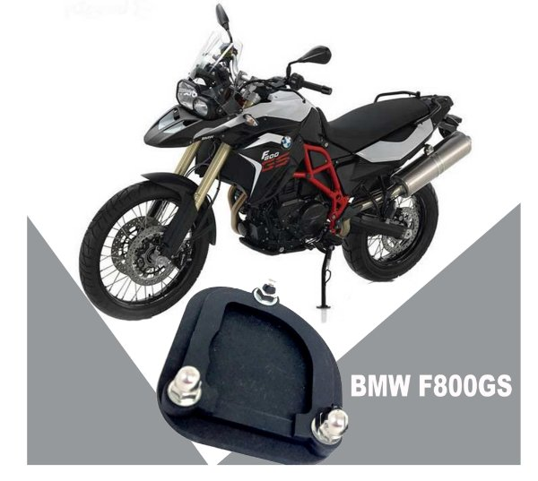 AMPLIADOR DA BASE DO DESCANSO LATERAL BMW F800GS / ADVENTURE