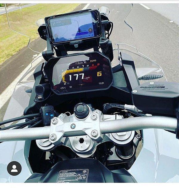 SUPORTE ALÇA NAVEGAÇÃO (CELULAR/ GPS) BMW 750 GS / BMW 850 GS / Adv
