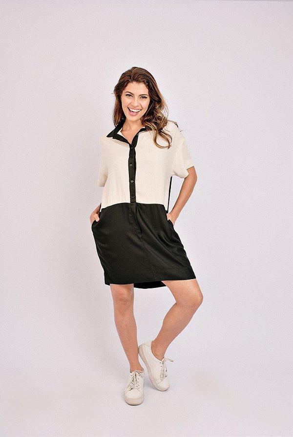 Vestido Bicolor Renata