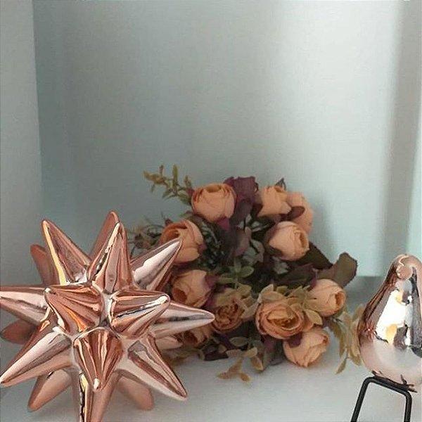 Ouriço cerâmica decoração