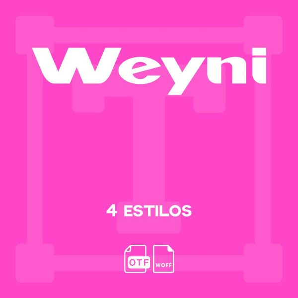 Weyni - Fonte display