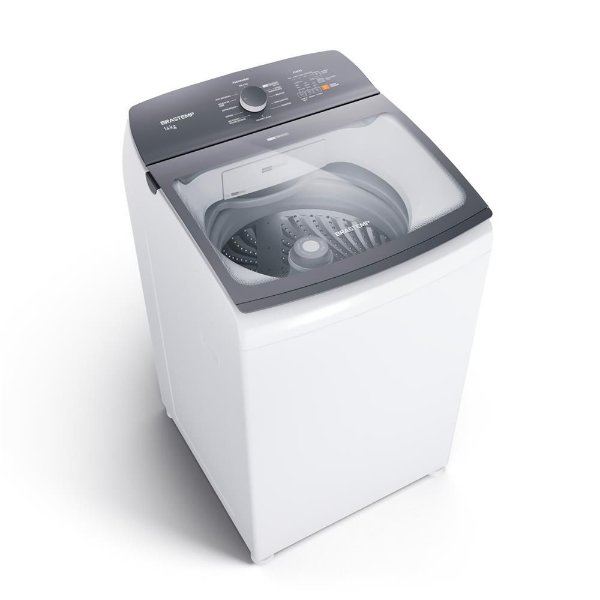 Máquina de Lavar 14KG Brastemp Branca BWK14ABANA 110V