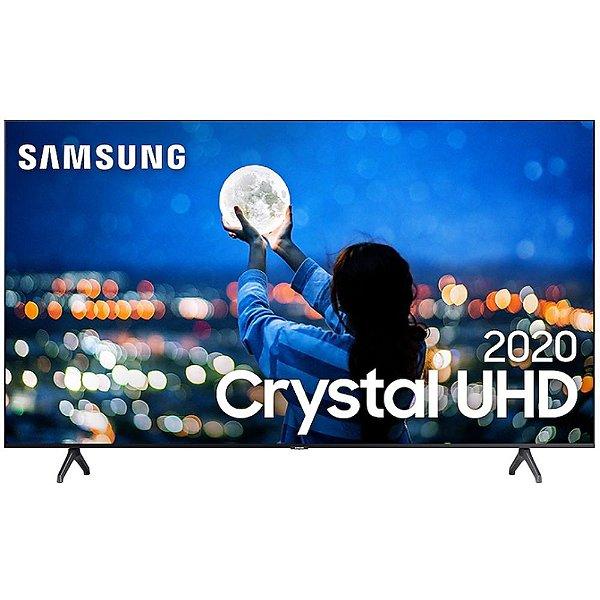 "Smart TV LED 55"" 4K Samsung Crystal UHD UN55TU7000GXZD Wi-Fi Comando de Voz"