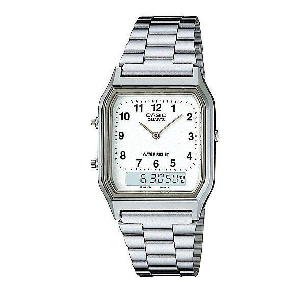 Relógio Analógico/Digital Social AQ-230A-7BMQ CASIO