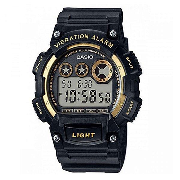 Relógio Digital W-735H-1A2VDF Preto Casio
