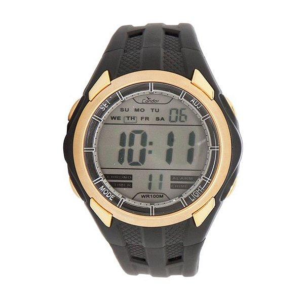Relógio Digital KM43639/8K Preto Condor