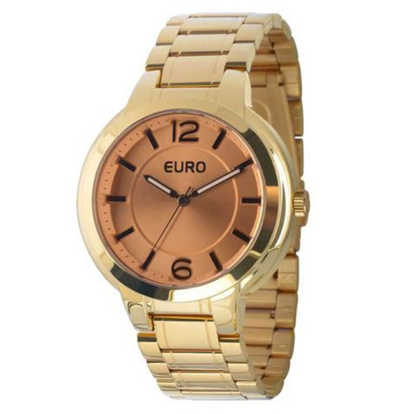 Relógio Feminino EU2035LXO/4K Dourado Euro