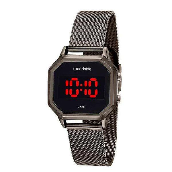Relógio Digital Feminino 3204MPMVSE2 Mondaine