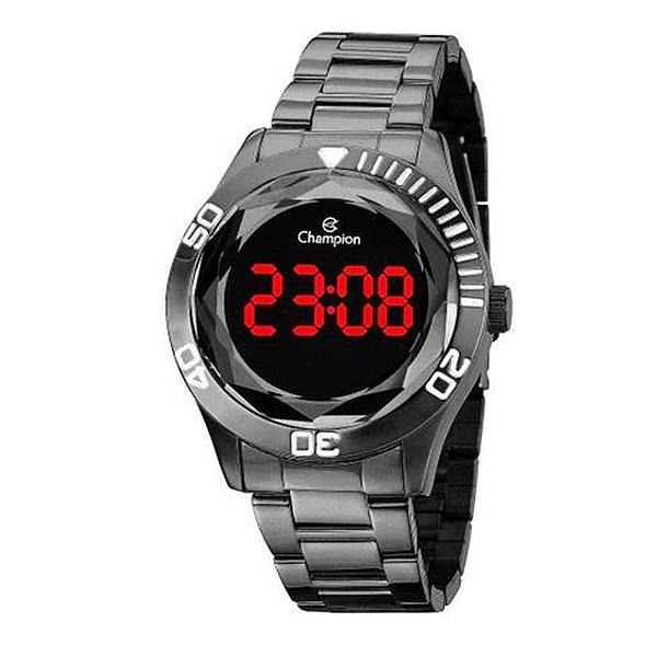 Relógio Feminino Digital CH48073C Chumbo Champion