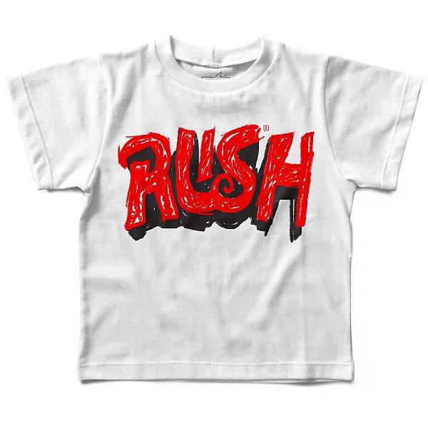 Camiseta Rush Handmade, Let's Rock Baby