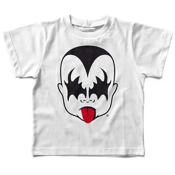 Camiseta Infantil Kiss Menino, Let's Rock Baby
