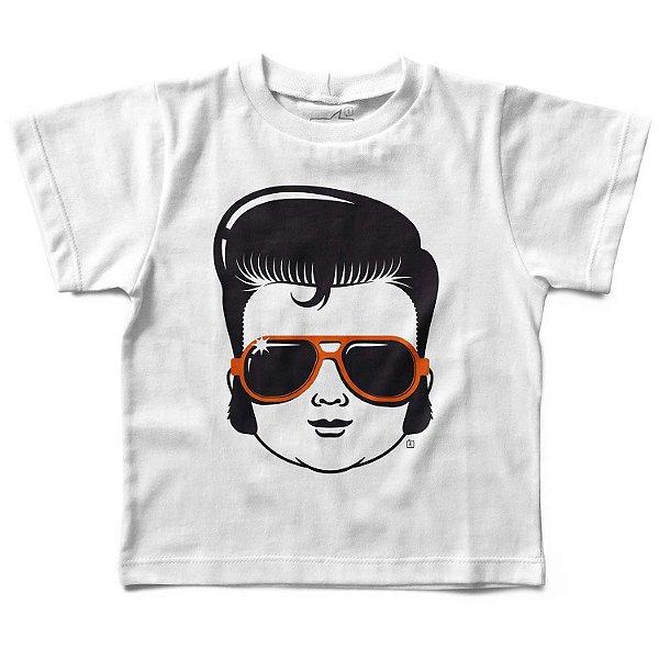 Camiseta Infantil Elvis Presley, Let's Rock Baby