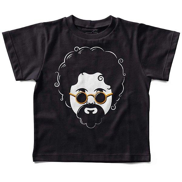 Camiseta Infantil Raul Seixas, Let's Rock Baby