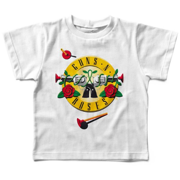 Camiseta Guns 'n' Roses Arminha, Let's Rock Baby