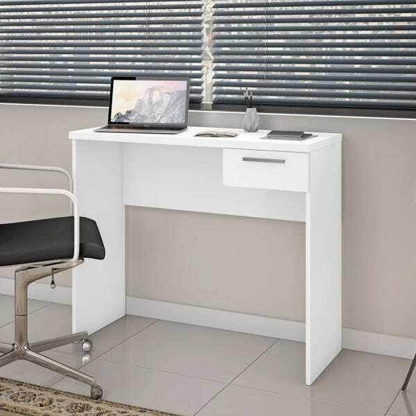 Escrivaninha Office NT2000 - Notável Branco Branco