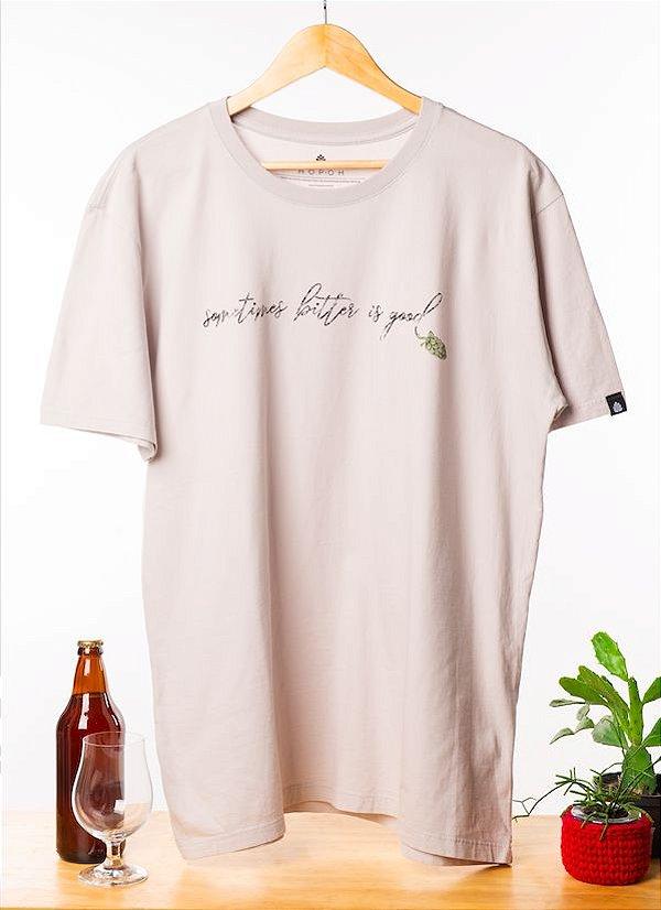 Camiseta Bitter is good