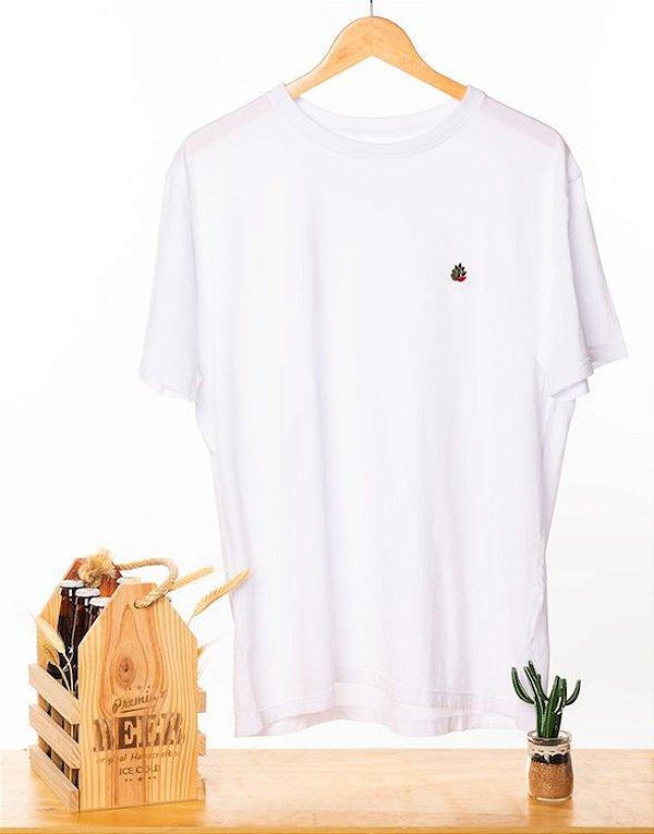 Camiseta Bordada Branca