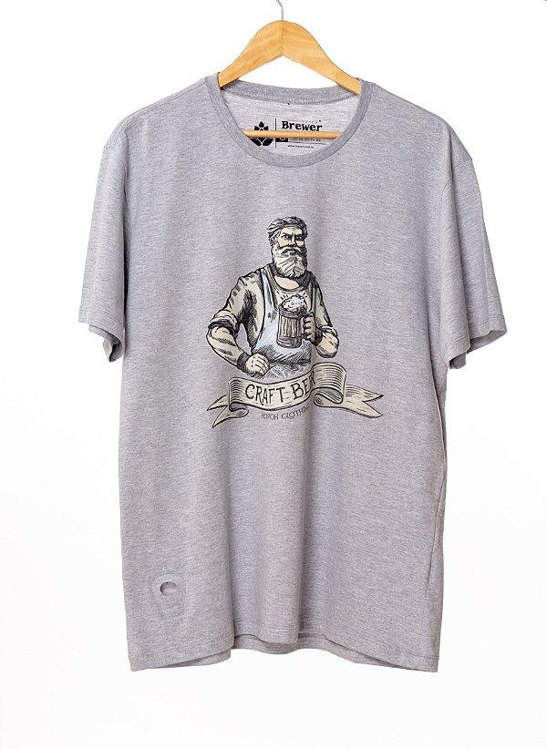 Camiseta Hop.oh Craft Beer com Abridor de Garrafa