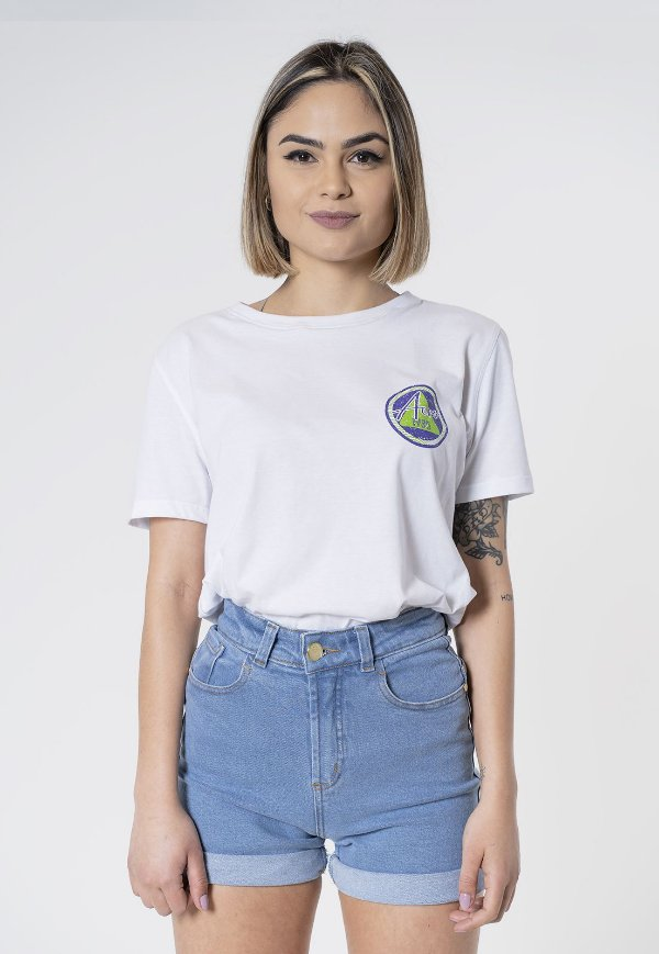 T-Shirt Aero Jeans Branca