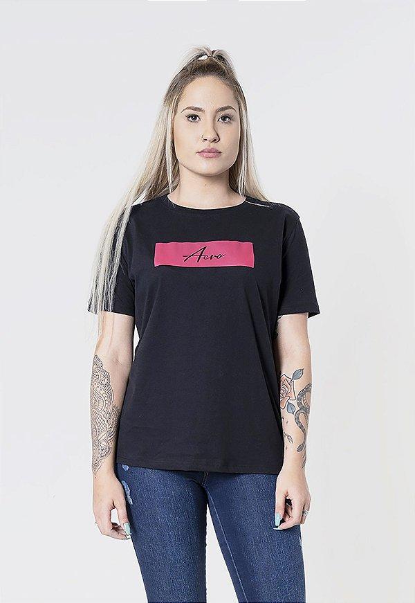 T-Shirt Aero Jeans Preta