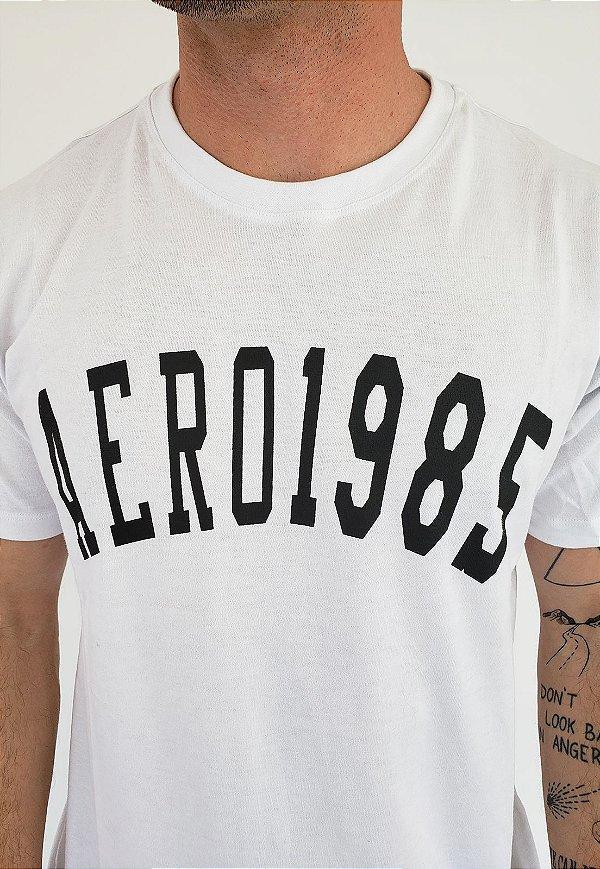 Camiseta Aero Jeans 1985 Branca