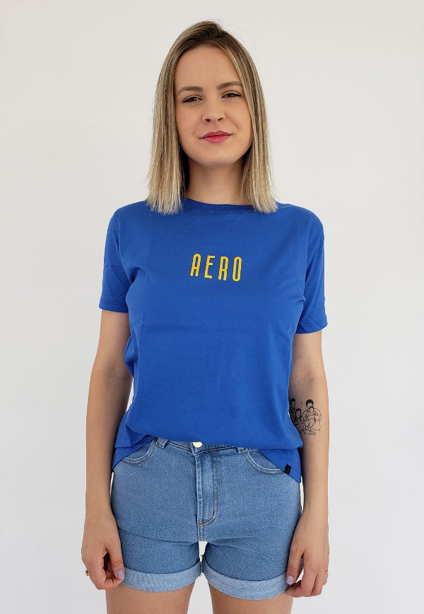 T-Shirt Aero Jeans Azul