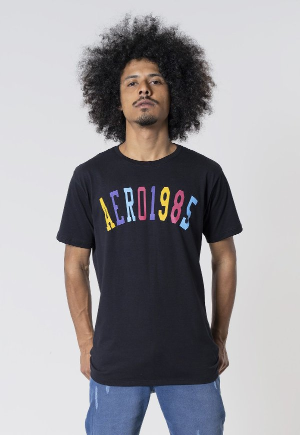 Camiseta Aero 1985 Preta