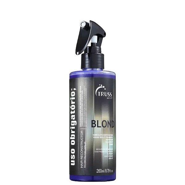 Tratamento Reconstrutor Uso Obrigatório Blond Truss 260ml